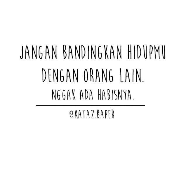 Kata kata Baper Instagram