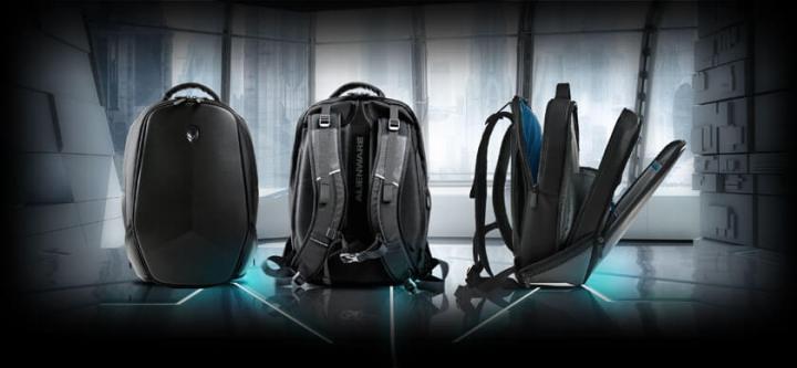 Dell Alienware Vindicator Laptop Carrying Backpack
