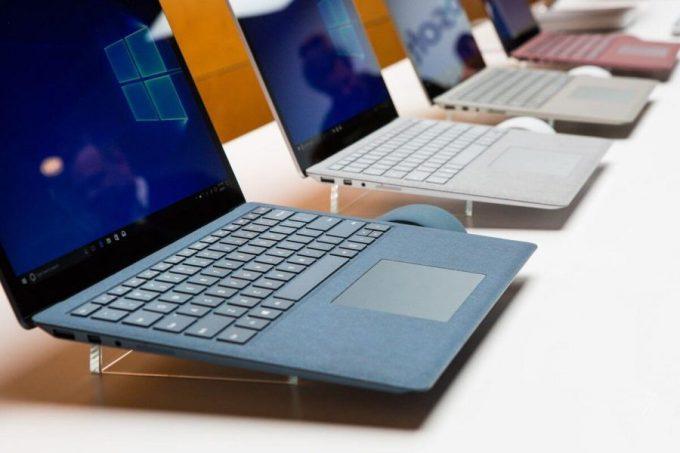 merk laptop Microsoft