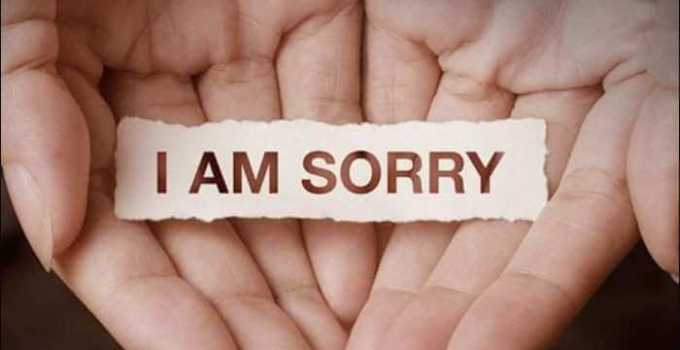 kata-kata minta maaf