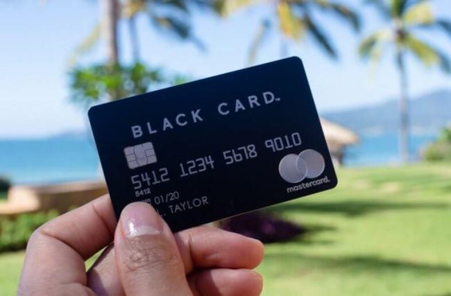 persyaratan pemegang black card