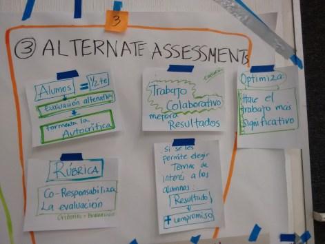 (3) Alternative Assessment