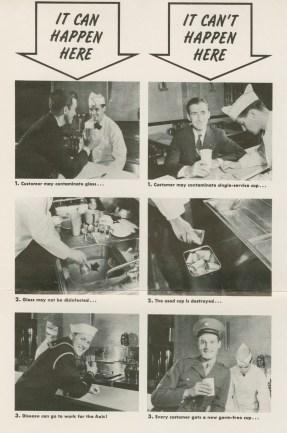 Dixie Cup Company circular, around 1940. (Hugh Moore Dixie Cup Company Collection, Special Collections and College Archives, Skillman Library, Lafayette College.)