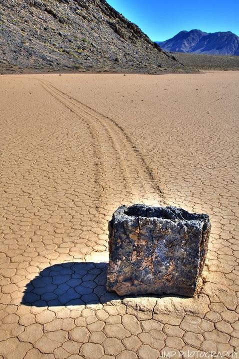 Долина движущихся камней, Калифорния. Фото