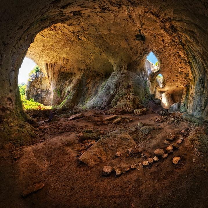 Фото внутри пещеры Глаза бога. Фото