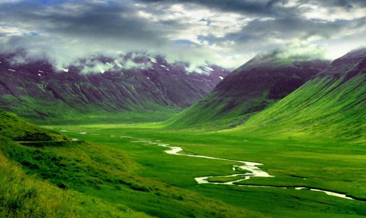 Пейзажи Исландии. Фото