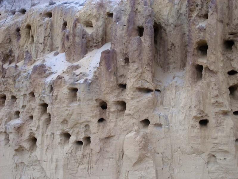 Минеральные источники Памуккале в Турции. Фото
