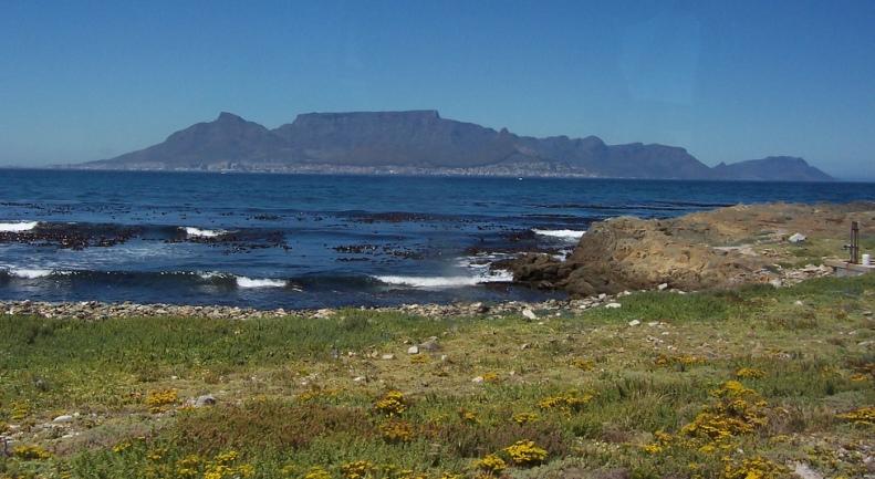 Столовая гора (Южная Африка). Фото / Table Mountain (South Africa). Photo