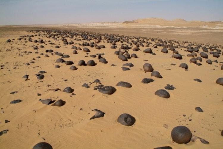 Белая пустыня в Египте. Фото