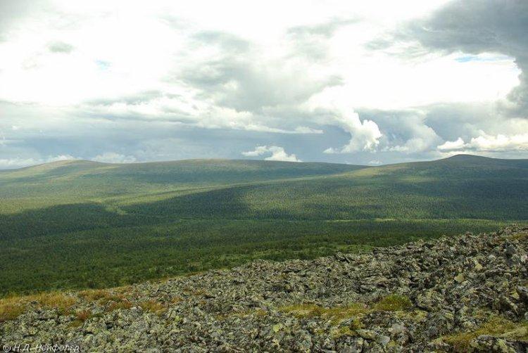 Исток реки Печоры. Республика Коми. Фото
