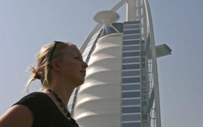 På syvstjernet dannelsesrejse i Dubai