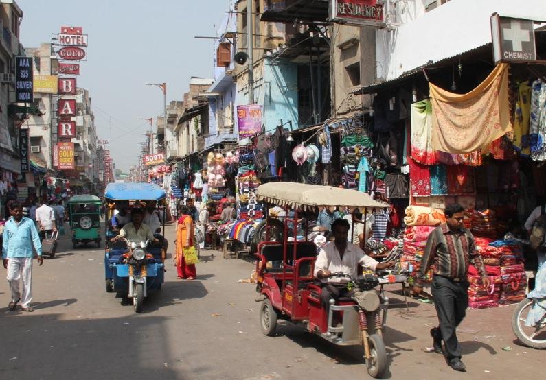 Delhi – storbycool og kaotisk