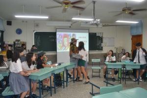 雲林正心中學創新科技人文營 「魔法」中學習