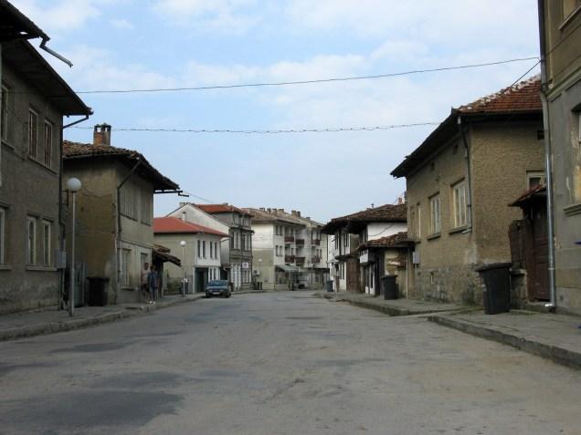 Vstop v turistično mesto Elena