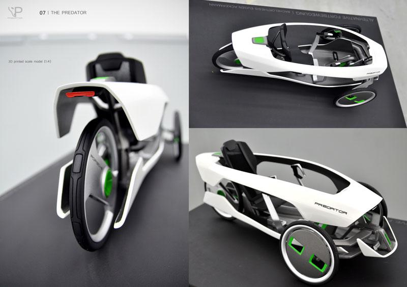 Eugen-Ackermann-Predator-lezec-tricikel