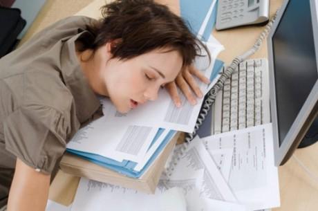 Тошнота от недосыпа