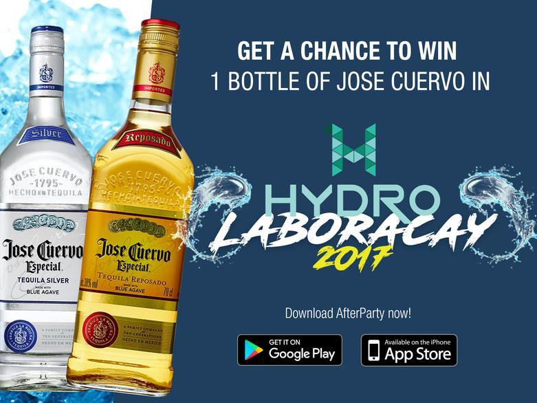 Jose Cuervo and AfterParty contest for Hydro Laboracay 2017