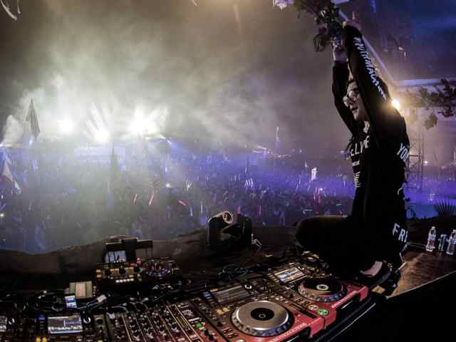 Skrillex in Tomorrowland