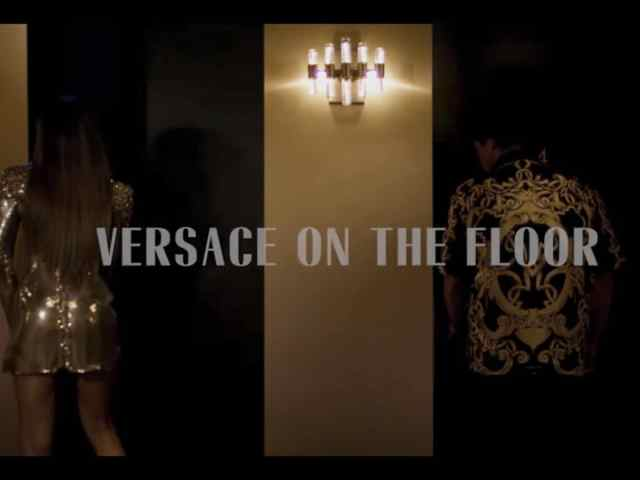 Zendaya and Bruno Mars in the Versace on the Floor music video