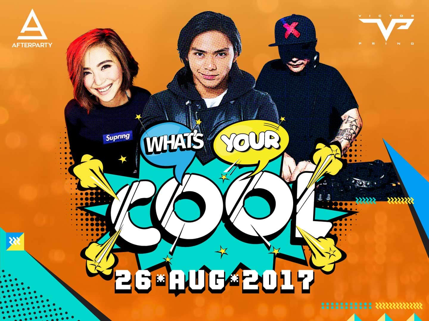 Victor Pring, Joyce Pring, and DJ X-Factor for What's Your Cool