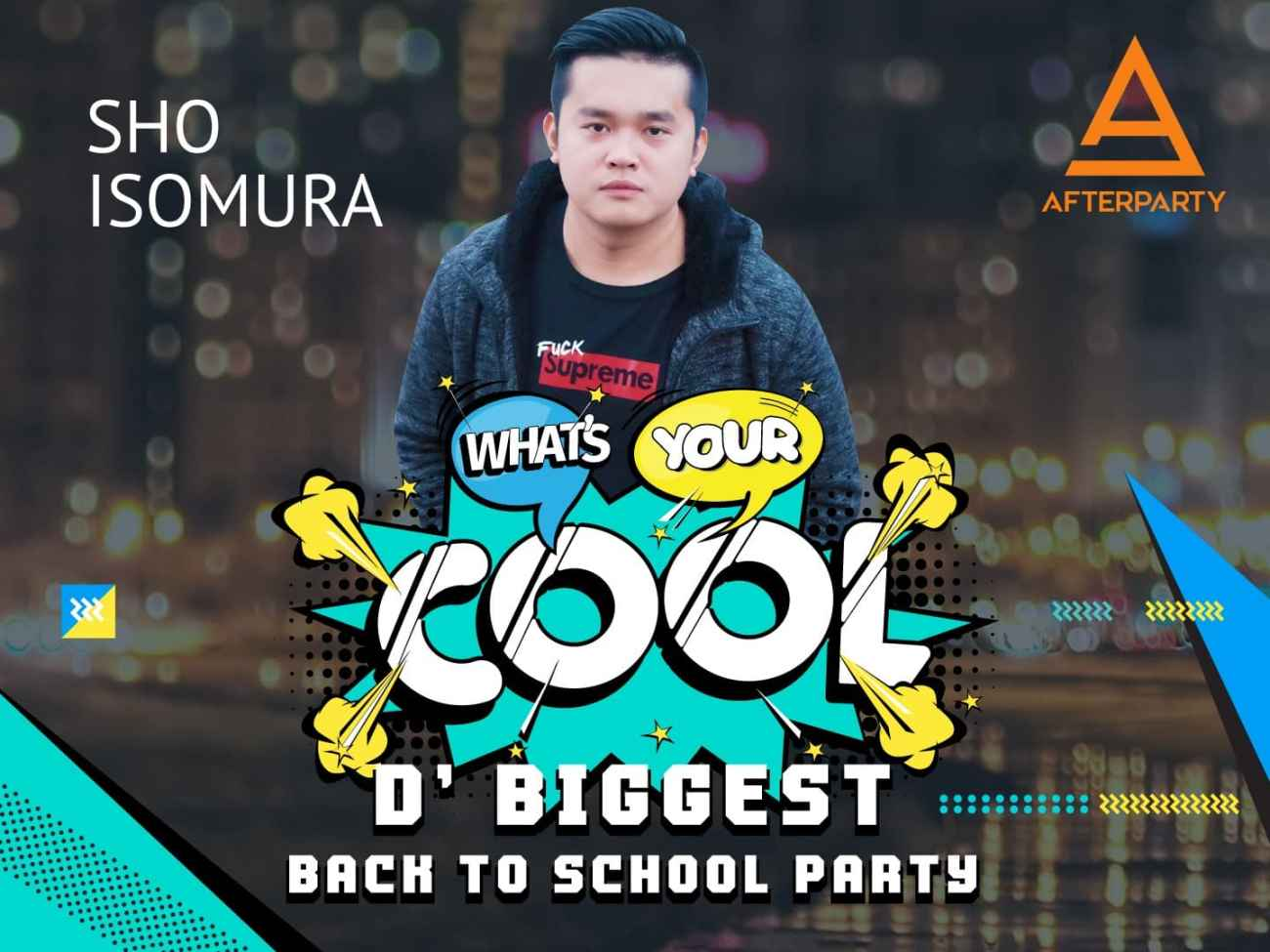 DJ Sho Isomura for What's Your Cool on UDOU PH