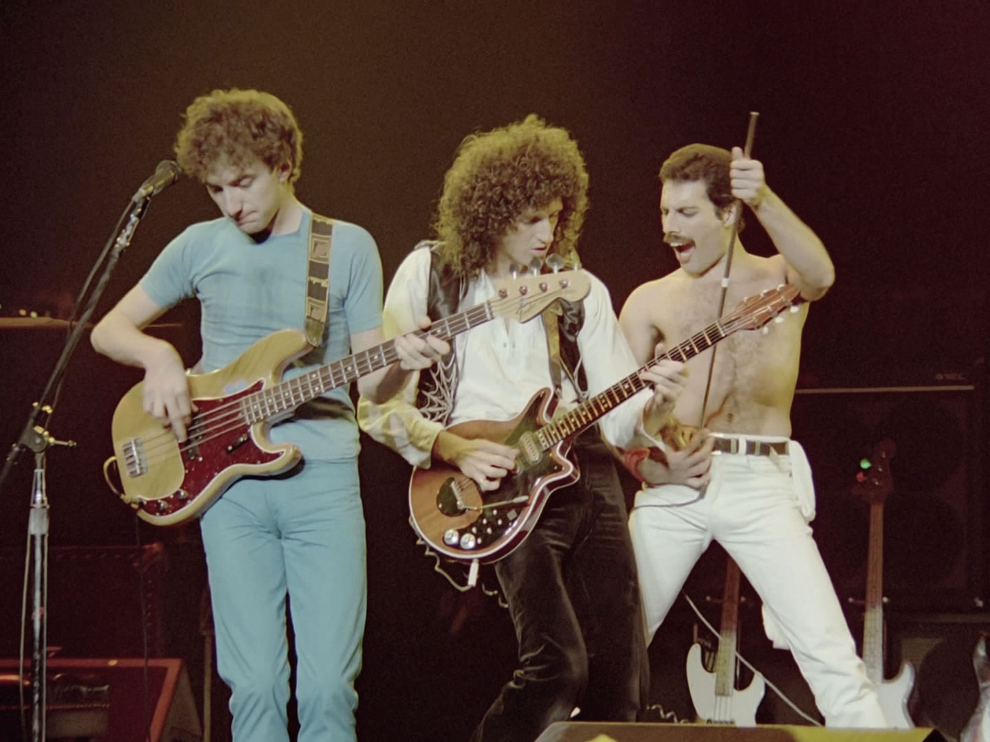 Queen performing live in Montreal, Canada