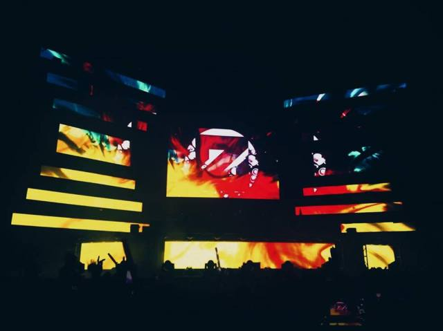 Zedd performing live at Road to Ultra PH