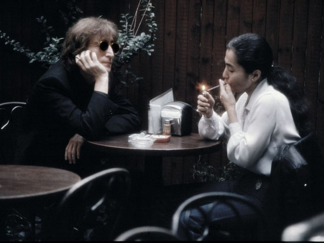 Unseen photos of John Lennon and Yoko Ono