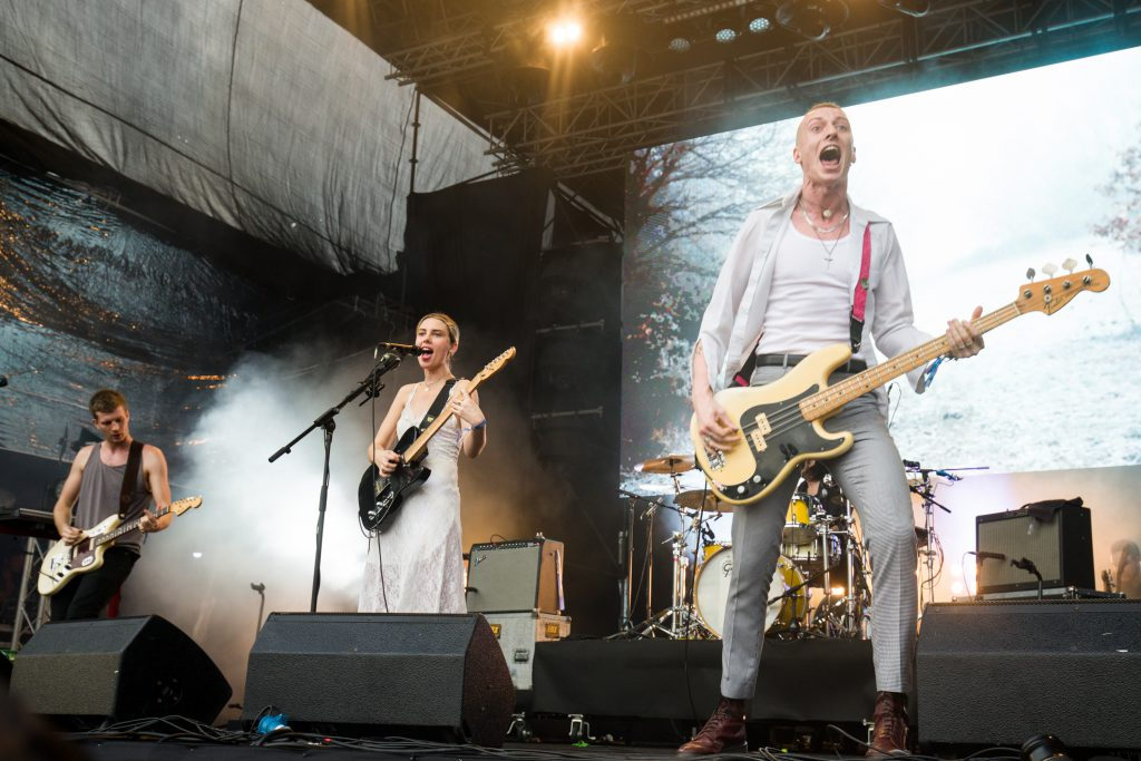 Wolf Alice live at Laneway Festival Singapore