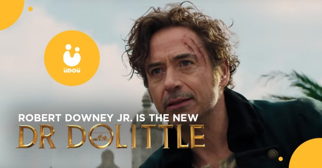 robert downey jr is the new dr dolittle