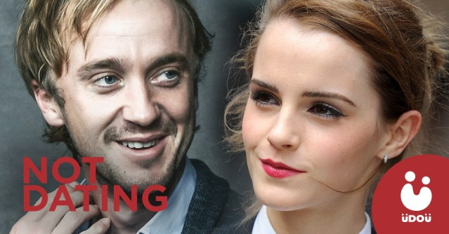 emma watson and tom felton are not dating