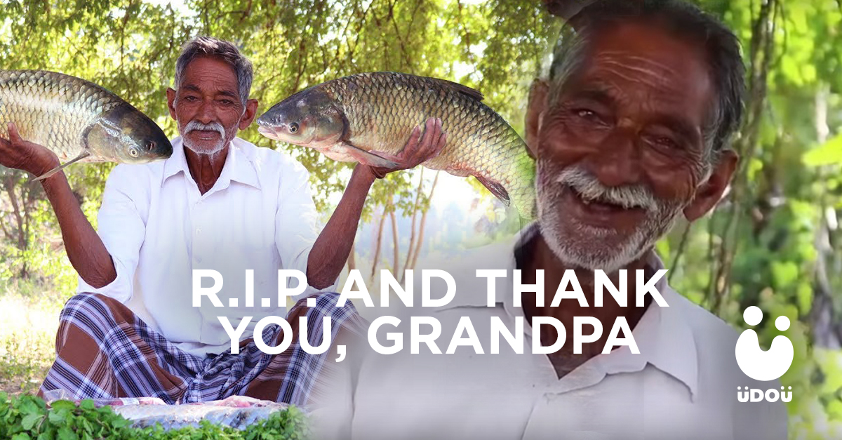 R.I.P. Grandpa from Grandpa Kitchen U Do U Header
