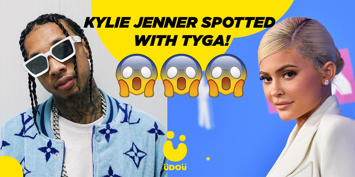 Kylie Jenner spotted with ex Tyga after recent breakup