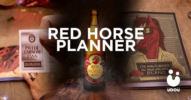 Red Horse Planner U Do U Header