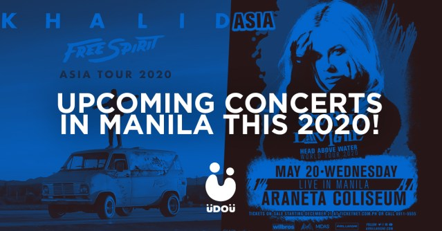 Upcoming concerts in Manila this 2020
