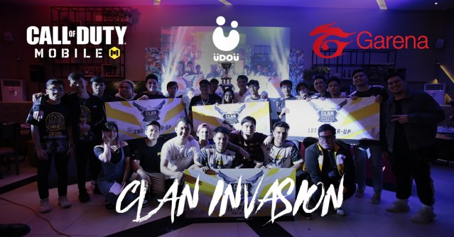 Garena Call of Duty Mobile Clan Invasion