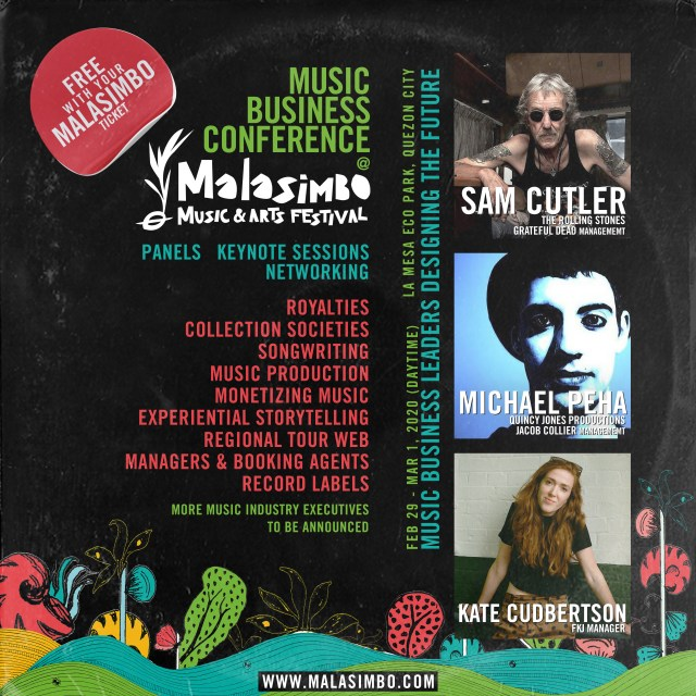 Music Business Conference Poster