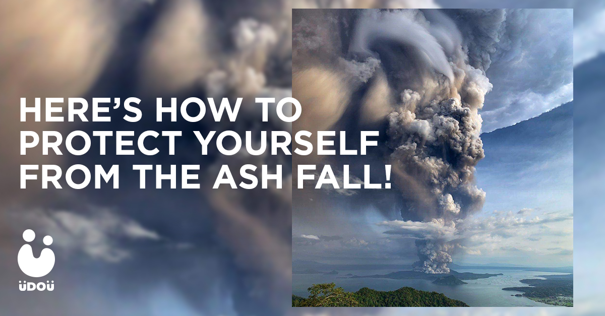 protect yourself from ashfall