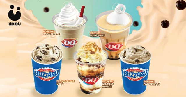 Dairy Queen Milk Tea