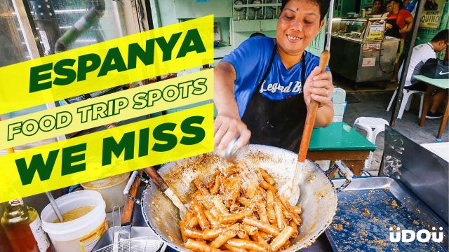 Here's to all the Espanya food stops we miss!
