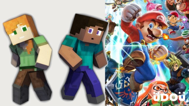 Minecraft's Steve and Alex Will Be Coming To Super Smash Bros. Ultimate