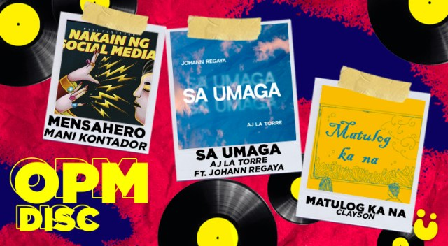Listen to Mani Kontador, AJ La Torre x Johann Regaya, and Clayson | OPM Disc