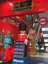 Let the good times roll at Hamleys toy store
