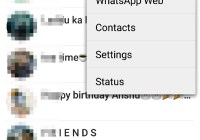 Activate whatsapp web version
