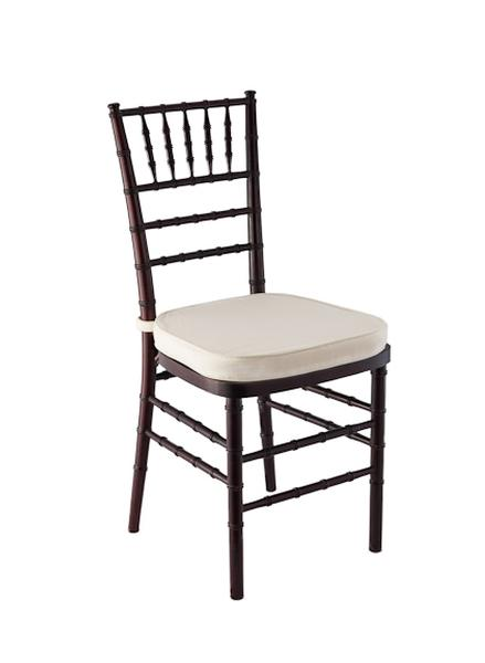 Ivory Chair Cushion  Rental Reception Party Banquet