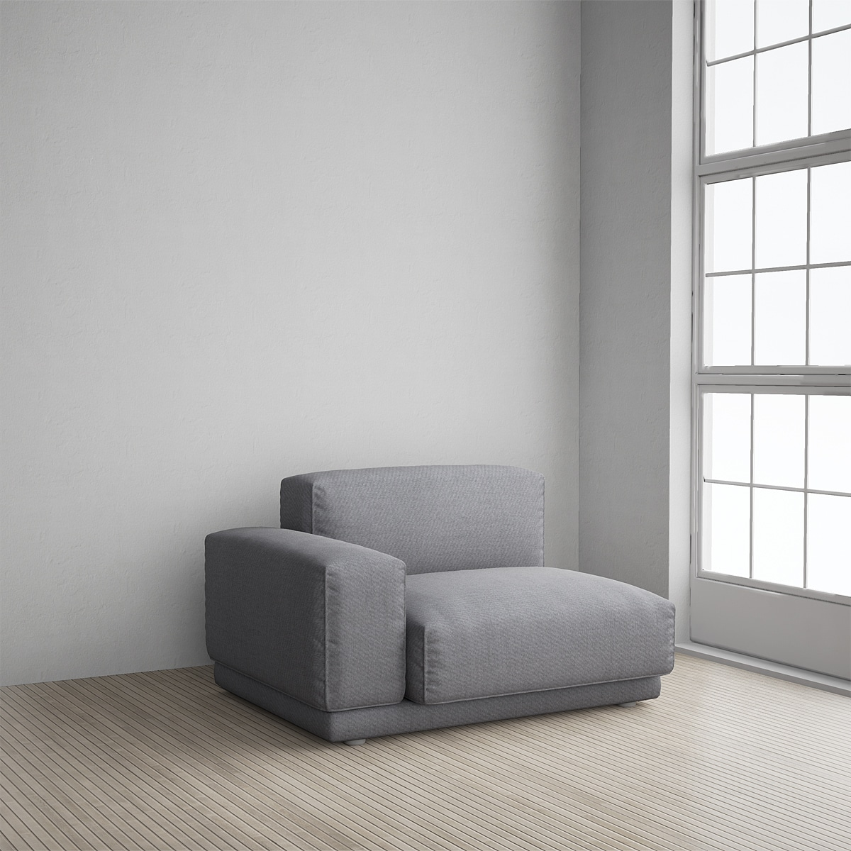 vitra sofa modular 3 seater black fabric bed collage module 03 ue4arch