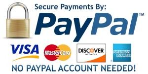 Sichere Zahlung mit PayPal