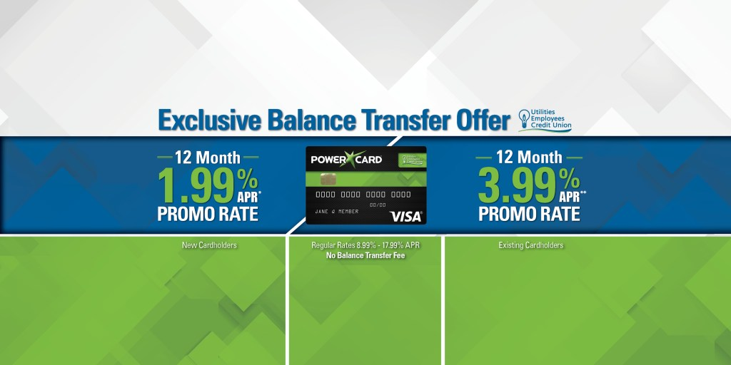 Picture of Powercard with exclusive balance transfer offer