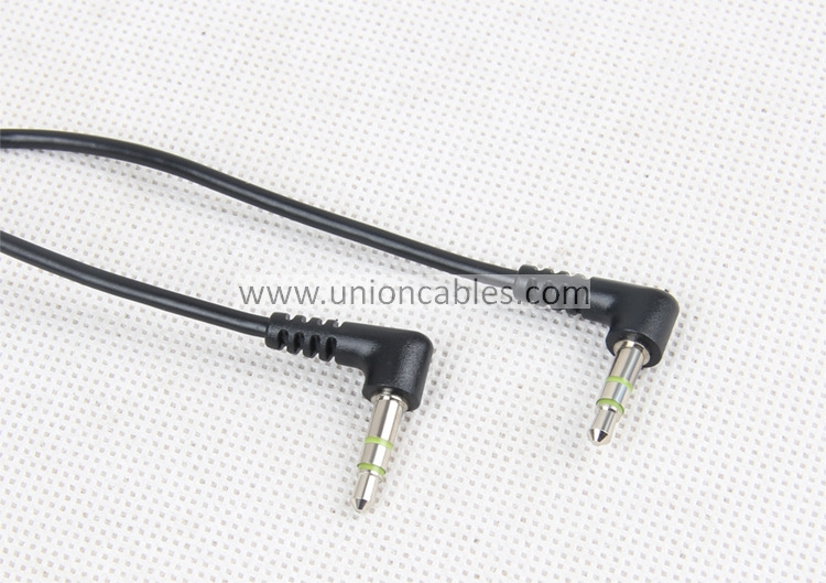 Slim 3.5mm Right Angle Stereo Audio Cable,Audio Video Cable