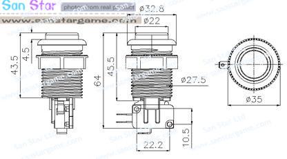 Arcade DIY Kits 60 In 1/Power Supply/Button/Joystick